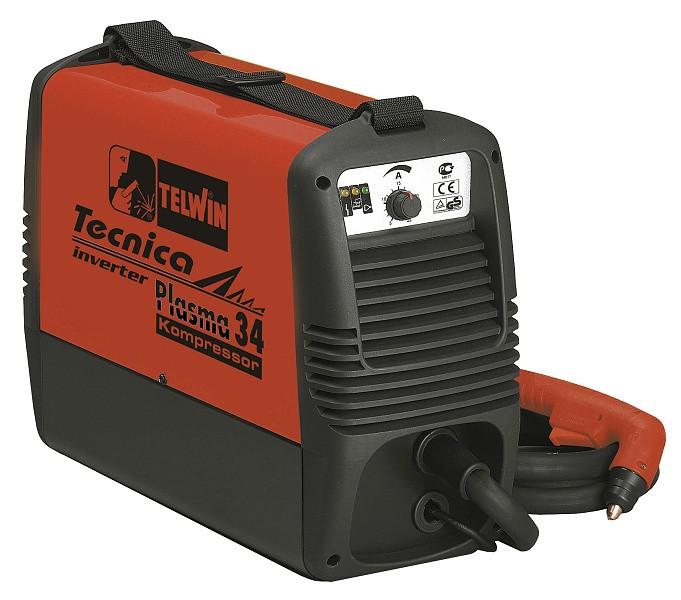 TELWIN invertor pro řezání plazmou - Plasma kompressor 34