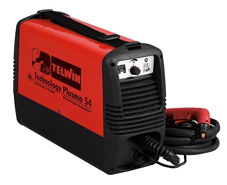 TELWIN invertor pro řezání plazmou - Plasma kompressor 54