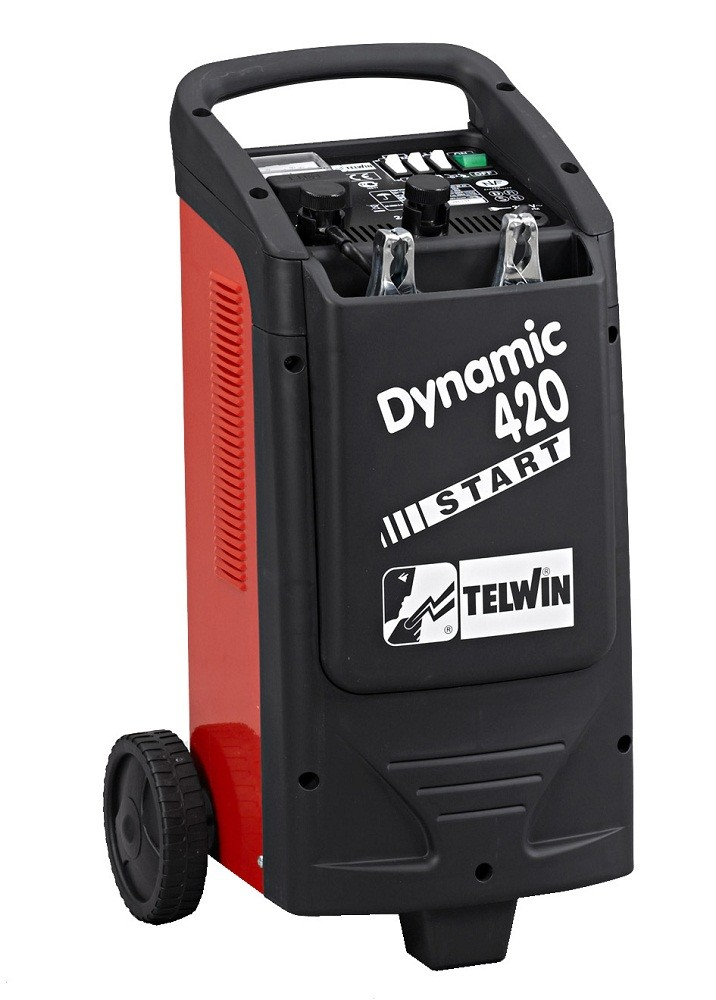 Nabíjecí zdroj se startem Telwin DYNAMIC 420 START