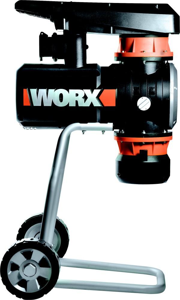 Tichý drtič větví WORX WG401E