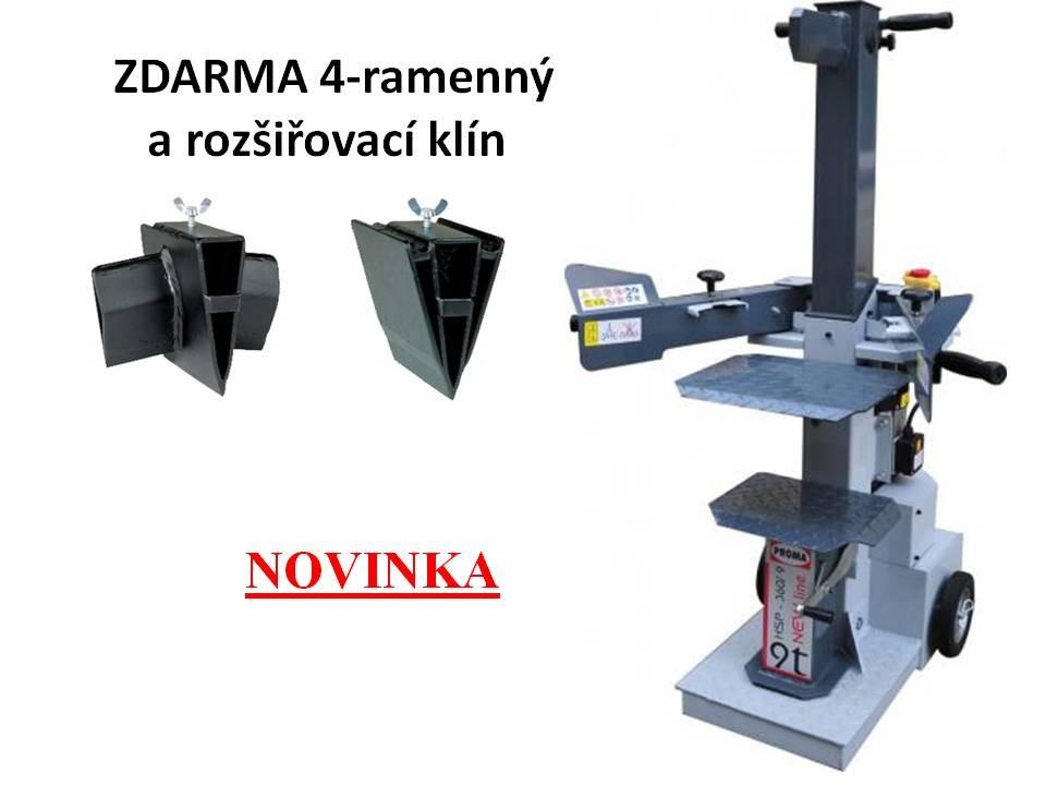 PROMA štípačka na dřevo HSP-360/9