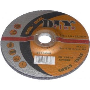 Brusný kotouč na ocel DIY 125x6,0x22,2