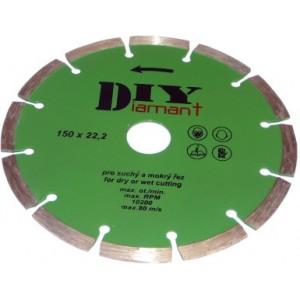 Diamantový kotouč segmentový DIY 180 mm