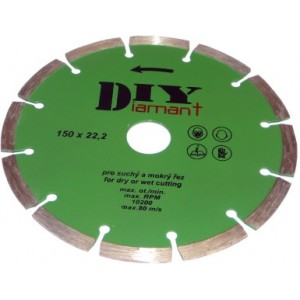Diamantový kotouč segmentový DIY 115 mm