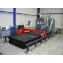 EKO ST P 1,0 odsávaný stůl pro pálící stroje na plech